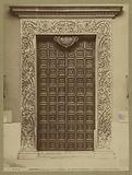 Mantova – Basilica di Sant'Andrea, la porta maggiore
