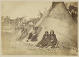 Arapaho or Kiowa Village