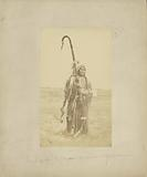 Powder Face, War Chief of the Arapahoes, [In War Dress]