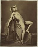 Male figure in Repose
