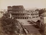 Roma – Anfiteatro Flavio o Colosseo eretto da Flavio Vespasiano ed inaugurato da Tito nell'80