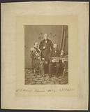 Colonel Romanov, Hiram Sibley, and Perry Collins discussing Russian-American Telegraph project