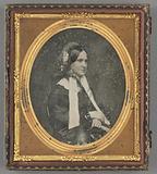 Portrait of a woman in Bonnet