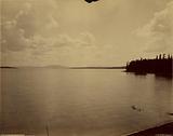 Yellowstone Lake, Mt Sheridan