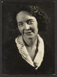 Woman with Embroidered Collar