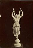 Statue of winged figure