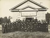 Makarevsky Retreat, group of priests