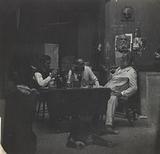 Samuel Murray, Thomas Eakins and William O'Donovan in Eakins's Chestnut Street Studio