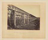 High Bridge crossing the Appomattox, near Farmville, on South Side Railroad, Va