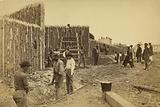 Stockade built by General Haupt for Protection of Government Property, Orange & Alexandria RR, Alexandria, Virigina