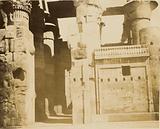 Egyptian temple ruins