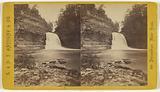 Scenery of Ithaca and Vicinity, NY Trip-hammer Fall, Fall Creek