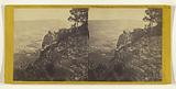The Valley of the Housatonic. In the Summit of Monument Mountain, Stockbridge (Mass.)