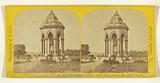 New Drinking Fountain, Victoria Park erected by Miss Burdett Coutts