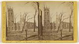 St James Church, Ruins of the Chicago Fire, 1871