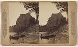 Castle rock, Columbia River