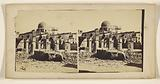 Unidentified ruins, domed building at back