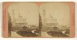 Exposition Universelle de 1878. Palais du Trocadero.