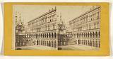 Cortile del Pal. Ducale (Venezia).