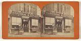 Exterior of hardware & cutlery store of SR Gittings
