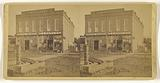Exterior view of Camp & Tenney Hardware Store