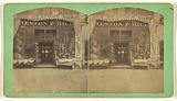 Storefront of Weston & Hill, Dry Goods, 903 Elm Street, Manchester, NH