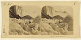 Icebergs at Niagara, As seen at the foot of the American Fall