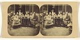 Canton. Group of Mandarins and Officers, in the Yamun of the Governor-General of Canton.