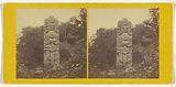 Monolith. – Ruins of Copan, Central America. Front view facing East.