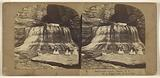 Buttermilk Creek, Ithaca, NY, 3d, or Pulpit Fall, 30 feet high