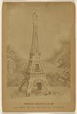 Exposition Universelle de 1889. La Tour De 300 Metres De Hauteur.