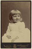 Unidentified little girl, seated