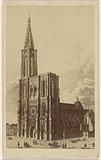 Strasburg [sic] Cathedrale Aug. 1874.