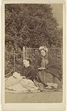 Mrs Louisa Moncreiffe and her daughter, Miss Georgina Moncreiffe