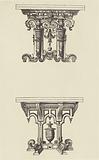 Design for Tables by Androuet du Cerceau