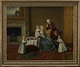 John, Fourteenth Lord Willoughby de Broke, and his Family