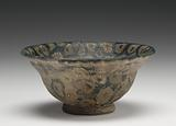 Mosaic Glass Carinated Bowl