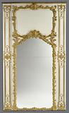 Frame for a Mirror with two Parcloses