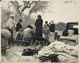 Oklahoma Refugees from the Dust Bowl, Looking for Work on the Cotton Fields, Now Encamped near Bakersfield, California