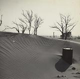 Drifts formed from dust storms