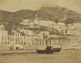 Salerno from the Sea shore