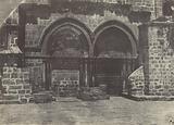 Palestine. Jérusalem. Arcades inférieures de l'Église du Saint-Sépulcre.