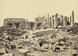 The Temple of El-Karnak. From the South East.