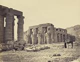 The Ramesseum of El-Kurneh. Thebes. Second view.