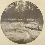 Thomas Johnston Homer II and Fred Collins Canoeing