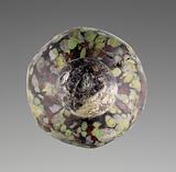 Opaque Mosaic Flask