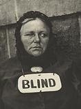 Photograph – New York [Blind woman]