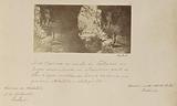 Barroca do riacho do Talhadao no lugar denominado os Mandins perto de Olho d'Agua mostrando huma caverna no grés com …