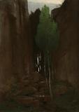 Spring in a Narrow Gorge (Quell in einer Felsschluct)