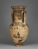 Funerary amphora with Scenes of Mourning